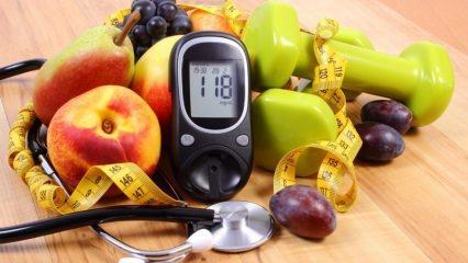 10 adımda diyabet diyeti