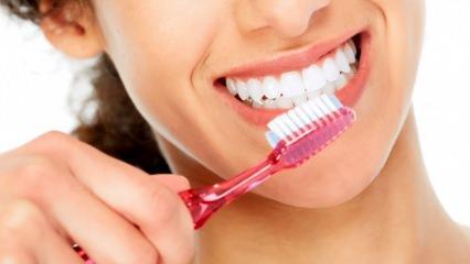 Sağlam ve beyaz dişler için doğal yöntemler