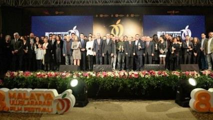 8. Uluslararası Malatya Film Festivali'nde ödüller sahiplerini buldu