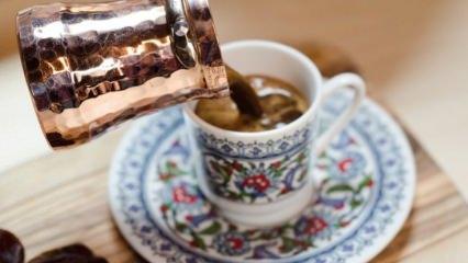 Bol köpüklü Türk kahvesi yapmanın püf noktaları