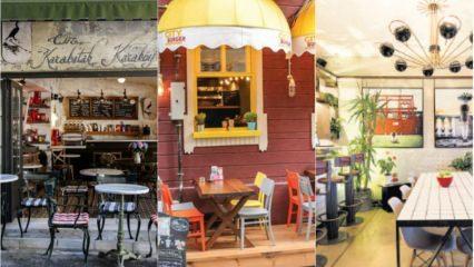 Dünyaca ünlü ilginç kafe dekorasyonları