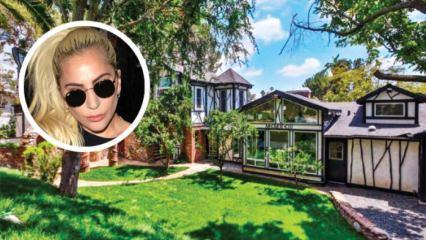İşte Lady Gaga'nın 24 milyon dolarlık evi...