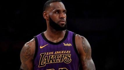 LeBron James rekor kırdı Lakers kazandı!