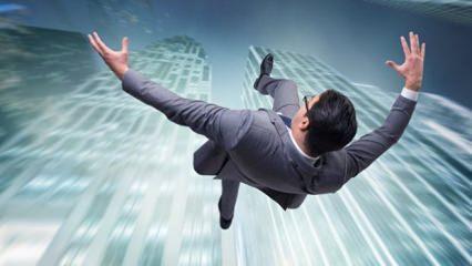Rüyada düşmek tabiri nedir? Rüyada yüksekten düşmek ne anlama gelir?