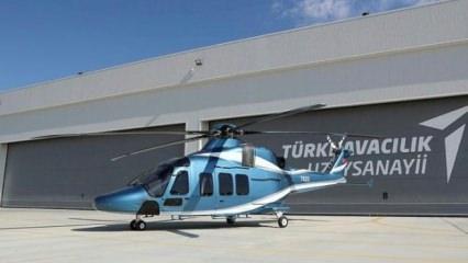 T625 helikopteri o ülkeye gidiyor!