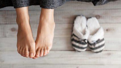 Ayak üşümesi neden olur? Ayak üşümesine ne iyi gelir?