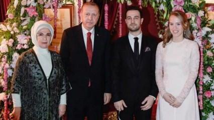 Başkan Erdoğan Yıldırım Demir'in kızının nişan törenine katıldı