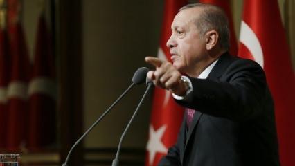 Erdoğan uyarmıştı! Baskınlar bugün başladı