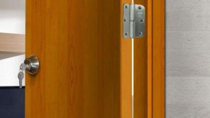 Ahşap kapı menteşesi nasıl takılır?