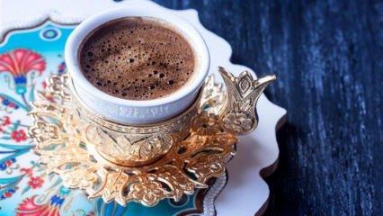 Kahve içerek kilo verme yöntemi