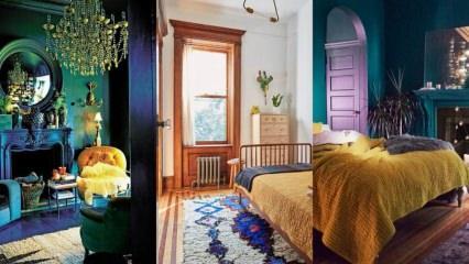 Odaya göre uygun boya seçimi