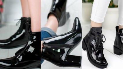 Rugan ayakkabı nasıl temizlenir?