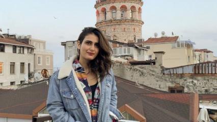 Bollywood yıldızı Fatima Sana Türkiye'de!