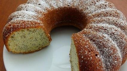 Haşhaşlı limonlu kek nasıl yapılır?