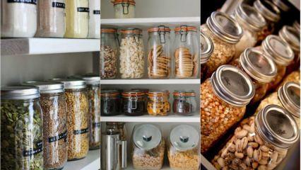 Mutfak ve kilerleriniz için uygulaması kolay düzenleme önerileri