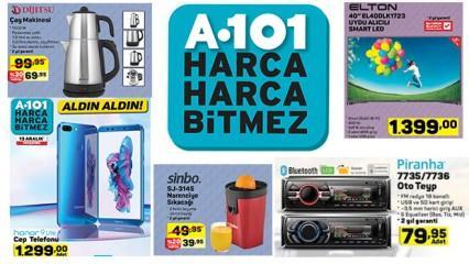A101 13 Aralık aktüel kataloğu yayınlandı! Yıl sonuna özel indirimli ürünler...