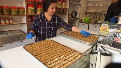 Çörekleri birinci oldu, siparişlere yetişemiyorlar