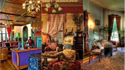Ev dekorasyonunda Victoria modası