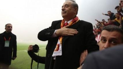 Galatasaray'dan tarihi rest!