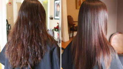 Kuru saçlar nasıl nemlendirilir?
