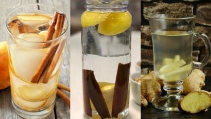 Metabolizma hızlandıran sulu karışımlar