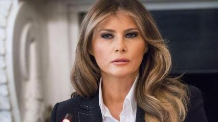 ABD başkanı Donald'ın eşi Melania öfke saçıyor!