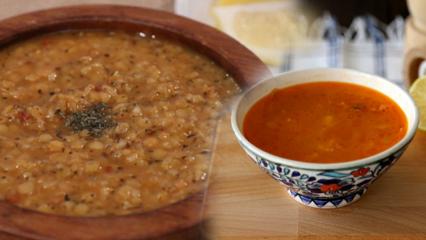 Enfes terbiyeli bulgur çorbası tarifi