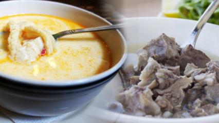 Ev usulü işkembe çorbası nasıl yapılır?