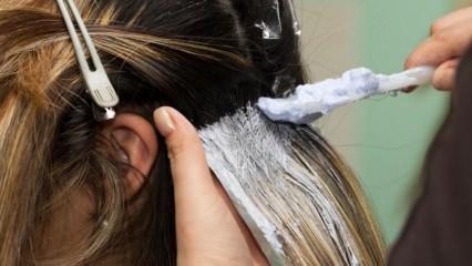 Evde balyaj nasıl yapılır? Pratik saç balyajı