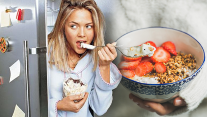 Gece yoğurt yemek kilo verdiriyor mu? Sağlıklı yoğurt diyeti listesi