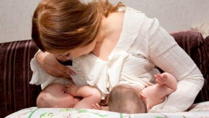 İkiz bebekler nasıl emzirilmeli? İkiz bebekler için emzirme pozisyonları