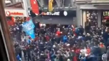 İstiklal Caddesi'nde olay! Bunun adı barbarlık