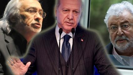 Başkan Erdoğan Metin Akpınar'ın küstah sözlerine sert çıktı