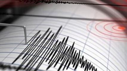 Korkutan deprem! İstanbul da sallandı