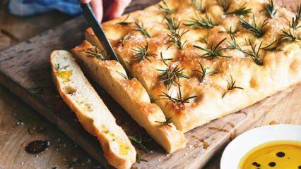 Pratik Fokaça ekmeği nasıl yapılır?