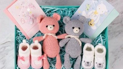 Yeni doğan bebekler için hediyeler