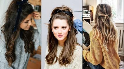 Her zaman yapabileceğiniz kolay saç modelleri