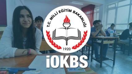 Bursluluk sınav tarihleri belli oldu 2019! İOKBS - PYBS sınav başvuruları