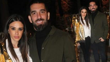 Arda Turan: Baldızın yeni yaşını kutladık