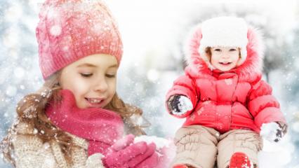 Çocuk giyimde en uygun kışlık kıyafetler ve fiyatları