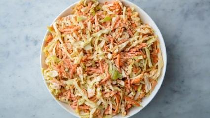 Coleslaw lahana salatası nasıl yapılır?