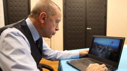 Başkan Erdoğan 'Yılın Fotoğrafları'nı seçti