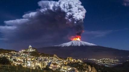 Dev yanardağ faaliyete geçti! 3 saatte 130 deprem
