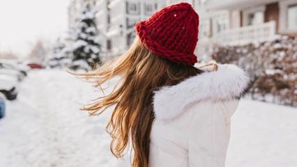 Kışın evde saç bakımı nasıl yapılır?