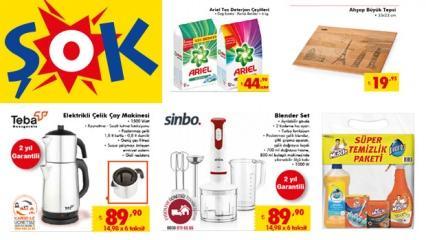 ŞOK 7 Ocak aktüel kataloğu! Elektrikli ürünlerde uygun fiyatlar...