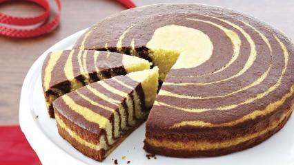 Pratik zebra kek tarifi