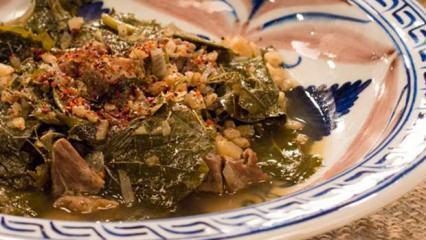 Kayseri'nin meşhur yemeği: Pırtımpırt