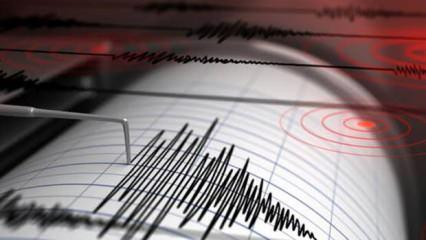 Ege Denizi'de korkutan deprem!