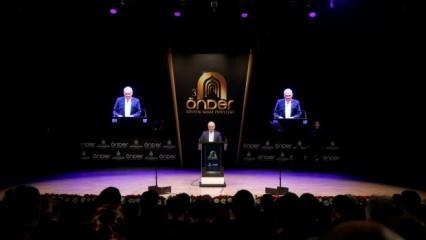 Yıldırım, ÖNDER Kültür Ödül töreninde konuştu