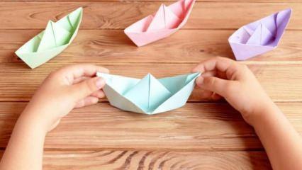 Origami nasıl yapılır? En kolay origami örnekleri